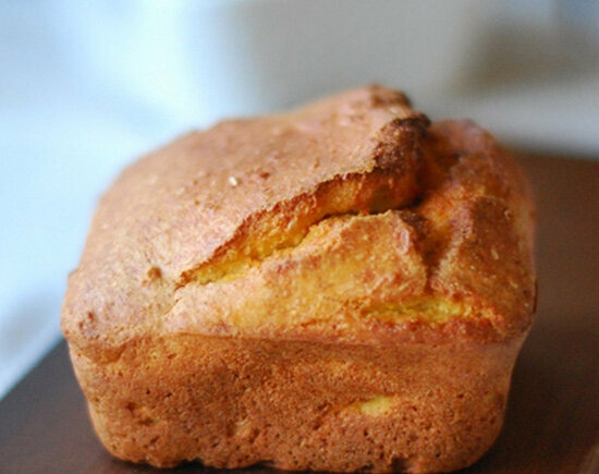 Keto bread made from flax and coconut flour