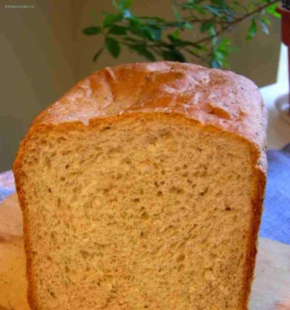 Bread with parmesan, dry herbs and bran