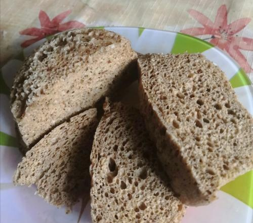 Microwave bread in 3 minutes