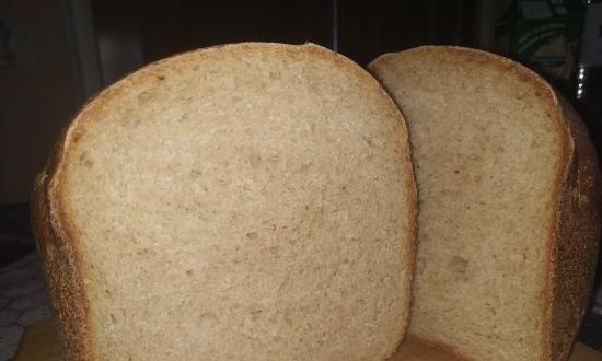Moulinex OW240E30. Wheat-rye bread with kefir