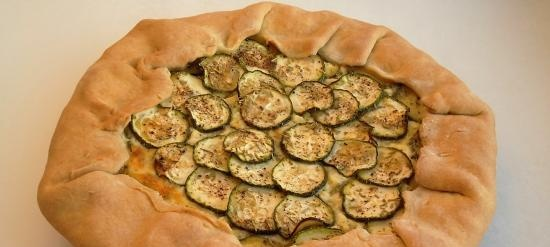Biscuit with zucchini and cheese (+ video)