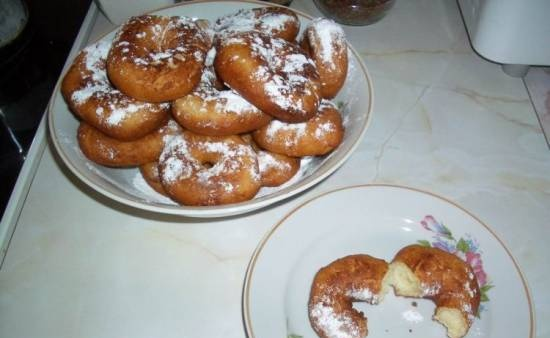 Curd donuts