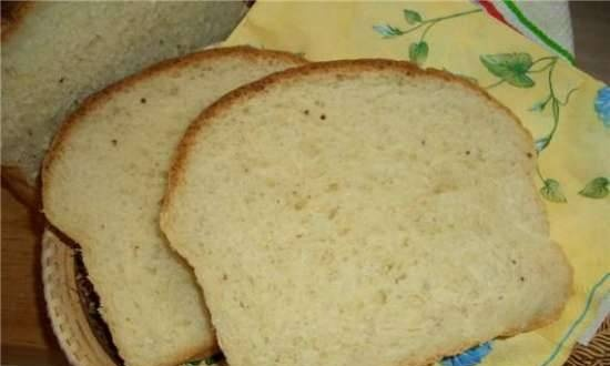 Shaped wheat bread with apple (oven)