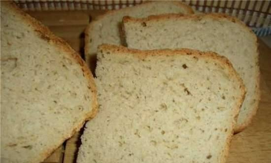 Rye-wheat bread with daily leaven (oven)