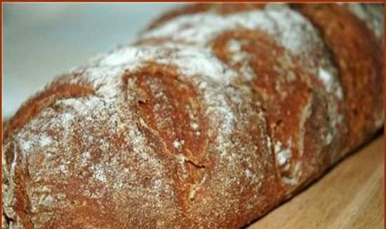 Two-thirds rye bread.