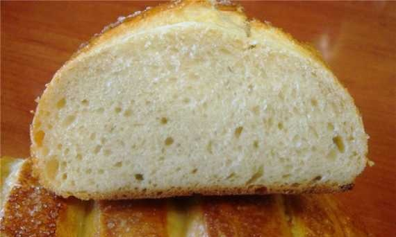 White Canadian bread (oven)