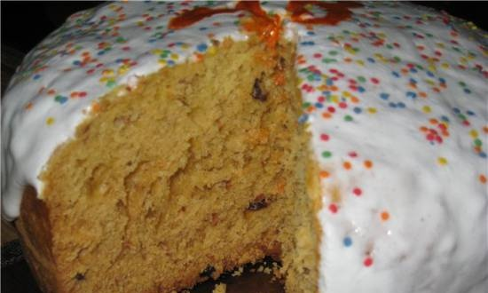 Easter cake in a slow cooker