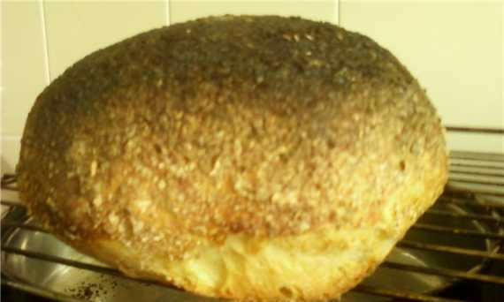 Rustic miracle bread (oven)