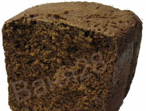 Rye custard bread is real (almost forgotten taste). Baking methods and additives