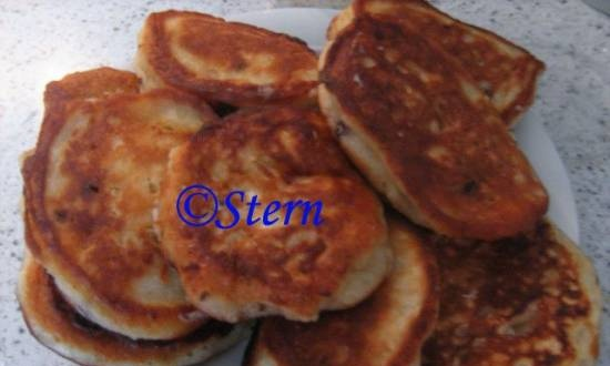 Curd-oat fritters