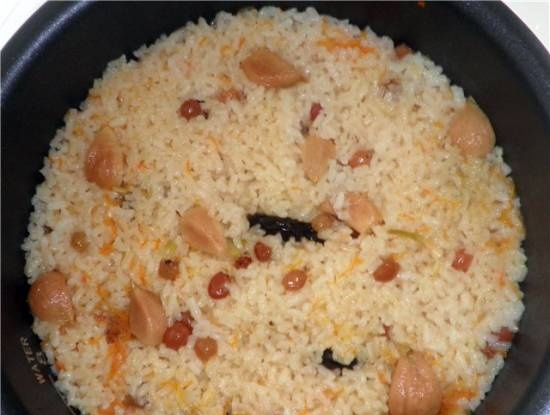 Pilaf with chicken and prunes (DEX-50)