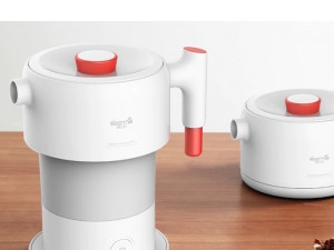 Deerma Portable Electric Kettle - Collapsible Travel Kettle