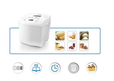 Tell me the recipe for yeast dough for the Philips HD9016 Bread Maker